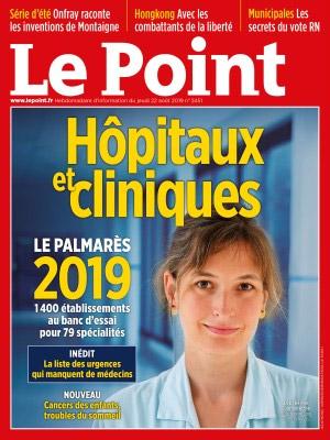 Classement 2019 du magazine «Le Point»: de belles performances pour les chirurgiens viscéraux du Parc