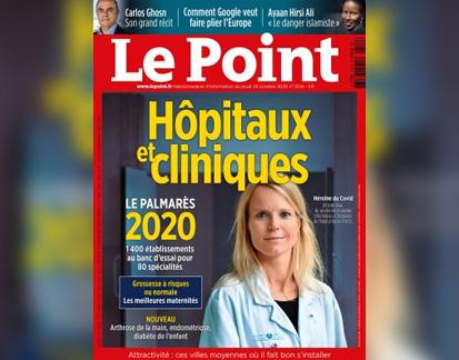 Classement 2020 du magazine « Le Point » : de bonnes performances